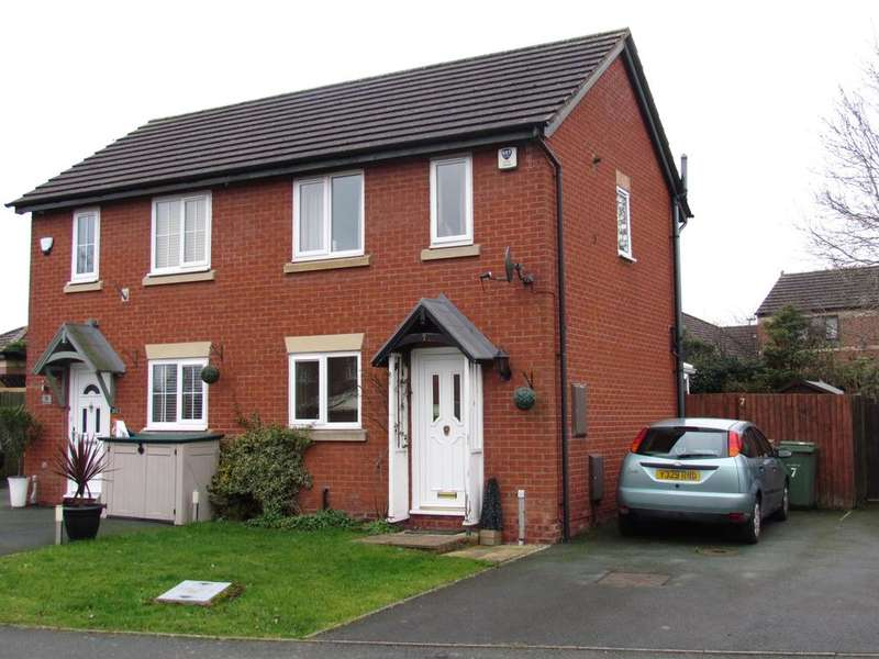 2 Bedrooms Semi Detached House for sale in ASCOT ROAD, OSWESTRY SY11
