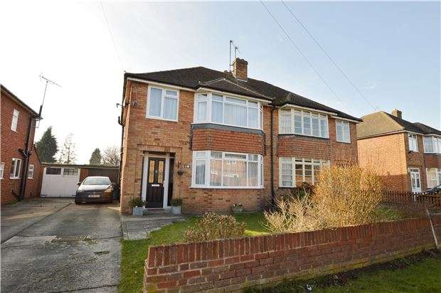 3 Bedrooms Semi Detached House for sale in Welland Lodge Road, GL52 3EZ