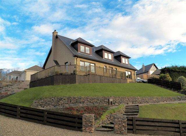 4 Bedrooms Detached Villa House for sale in Glenburn Lodge, Craigowan Crescent, Campbeltown, PA28 6FE