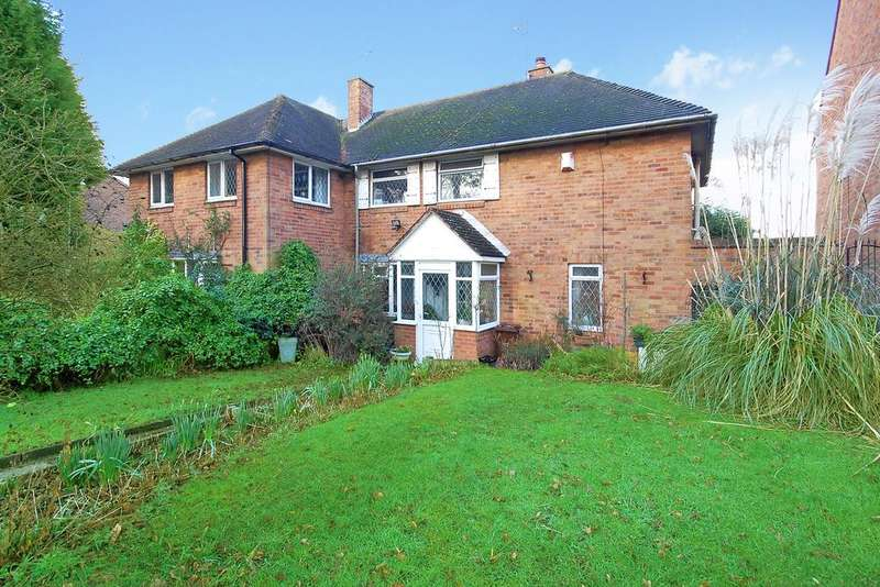 3 Bedrooms Semi Detached House for sale in CASTLECROFT ROAD, Castlecroft, Wolverhampton WV3