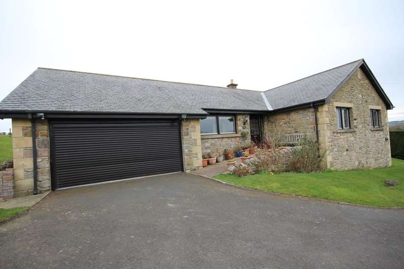 4 Bedrooms Detached Bungalow for sale in Francis Cottage, Powburn, Alnwick, Northumberland NE66