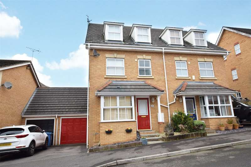 4 Bedrooms Semi Detached House for sale in Boole Heights, Bracknell, Berkshire, RG12