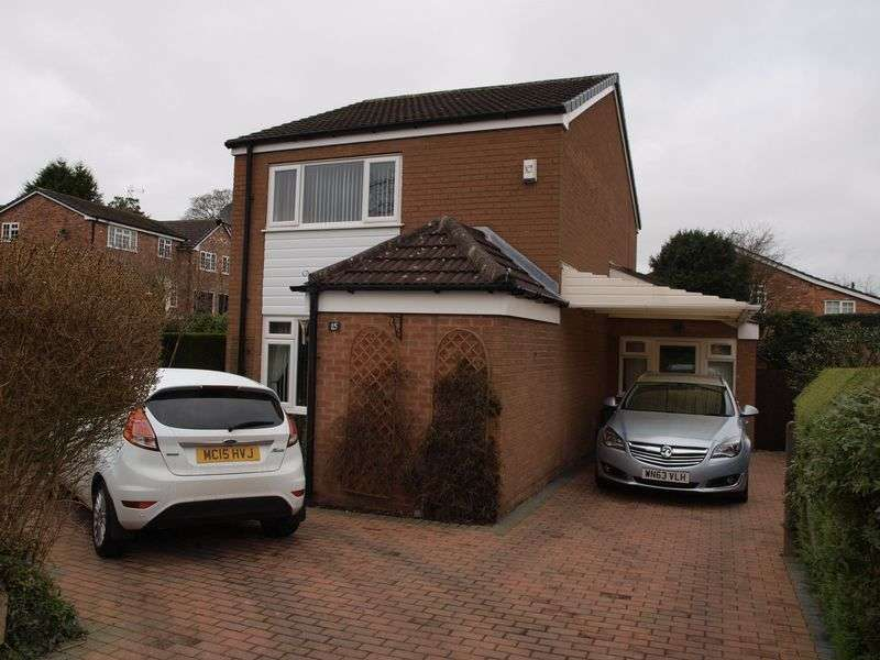 3 Bedrooms Detached House for sale in Leigh Way, Weaverham, CW8 3PR