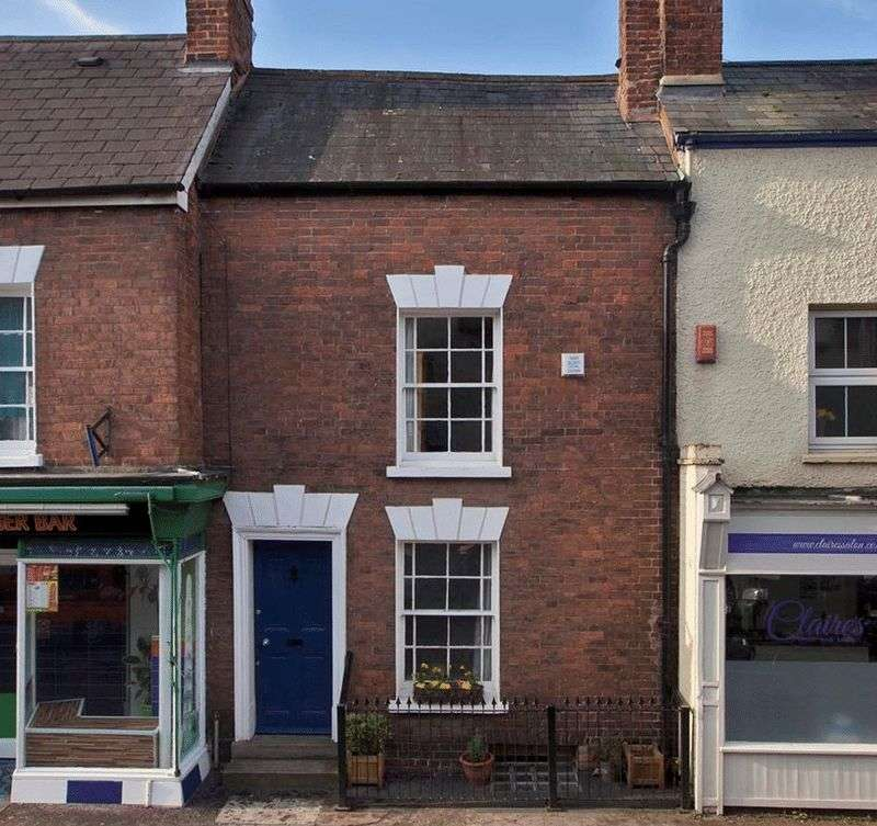 2 Bedrooms Terraced House for sale in South Street, Wellington - unusual Georgian cottage.