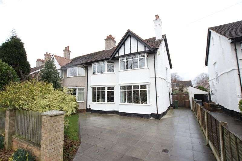 4 Bedrooms Semi Detached House for sale in Kings Road, Bebington, Wirral