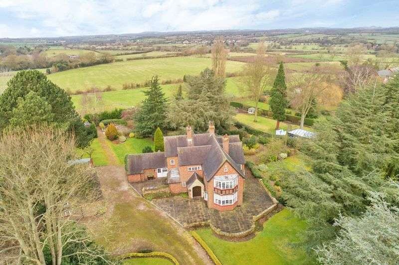 4 Bedrooms Detached House for sale in Station Road, Desford