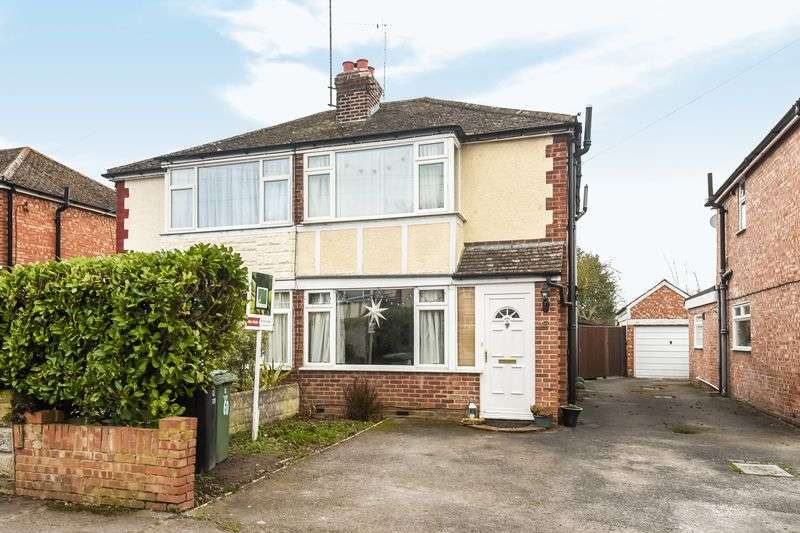 3 Bedrooms Semi Detached House for sale in Norreys Road, Didcot