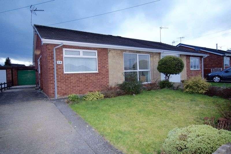 3 Bedrooms Semi Detached Bungalow for sale in Beech Avenue, Bradley, Wrexham