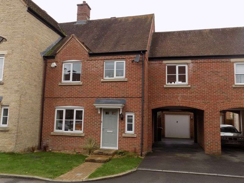 3 Bedrooms Terraced House for sale in Dunley Close, Redhouse