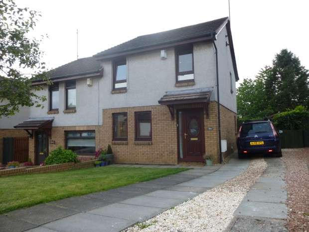 3 Bedrooms Semi Detached House for sale in Cherrybank Walk, Airdrie, ML6