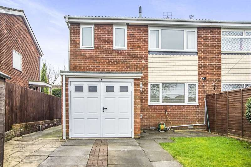 3 Bedrooms Semi Detached House for sale in Aston Way, Whickham, Newcastle Upon Tyne, NE16