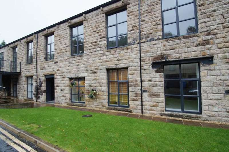 2 Bedrooms Ground Flat for sale in The Mill, Tamewater Court, Dobcross OL3