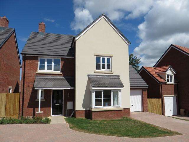 4 Bedrooms Detached House for sale in Haygrove Park, Durleigh Road, Bridgwater TA6