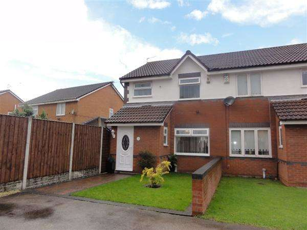 3 Bedrooms Semi Detached House for sale in Topsham Close, Gateacre, Liverpool