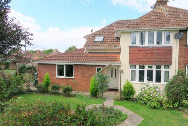 3 Bedrooms Semi Detached House for sale in Bridgwater Road, Taunton