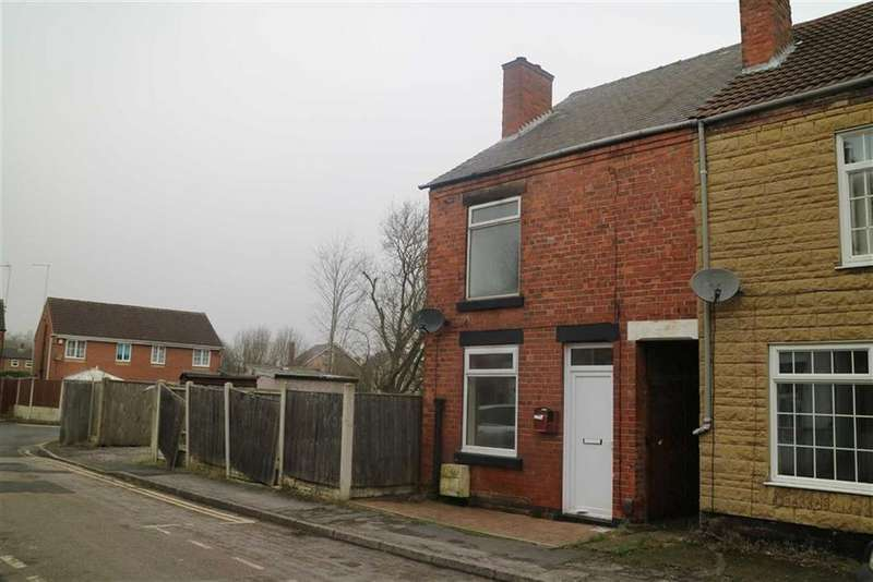 2 Bedrooms End Of Terrace House for sale in 18, Alfred Street, Kirkby In Ashfield, Notts, NG17