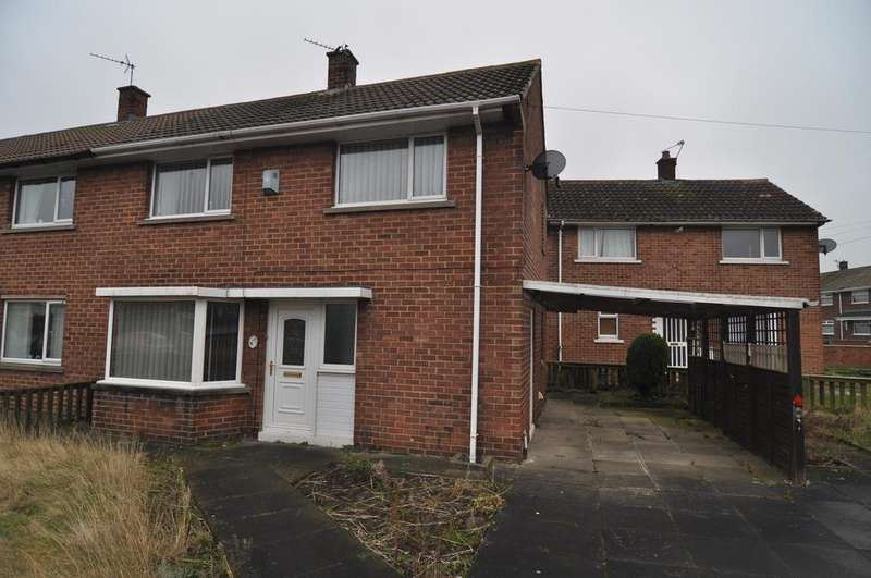 2 Bedrooms End Of Terrace House for sale in Central Drive, Middlestone Moor DL16
