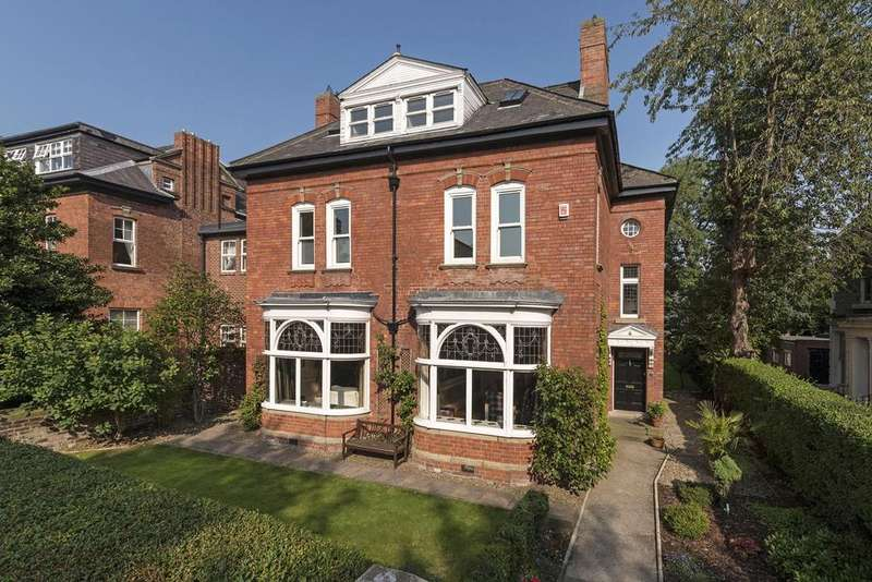 6 Bedrooms Detached House for sale in Hazelwood Villa, 17 Akenside Terrace, Jesmond, Newcastle upon Tyne NE2