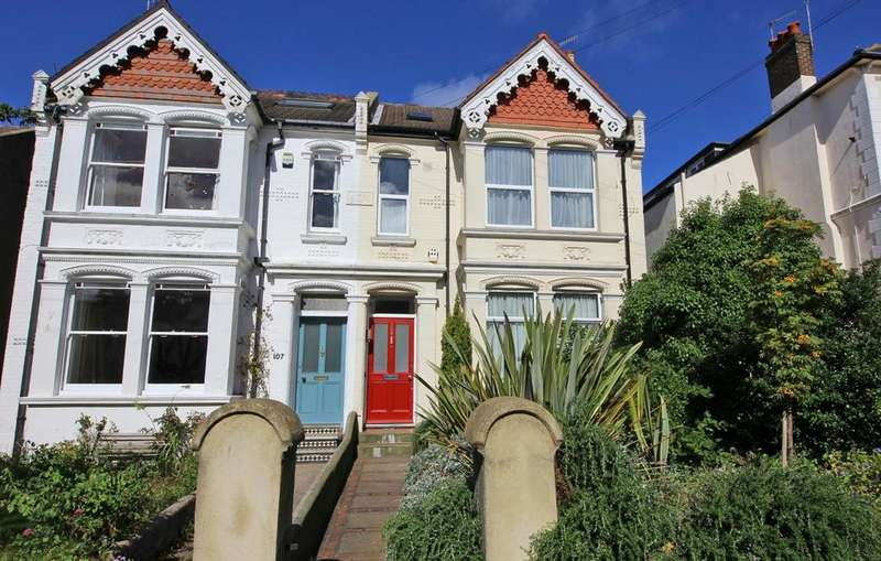 5 Bedrooms Semi Detached House for sale in Springfield Road, Brighton BN1