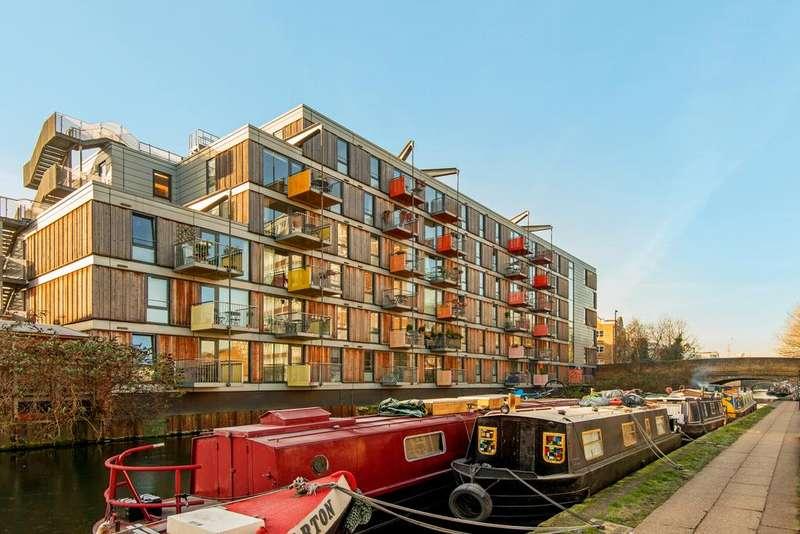 1 Bedroom Apartment Flat for sale in Adelaide Wharf, Queensbridge Road, Hackney, London E2