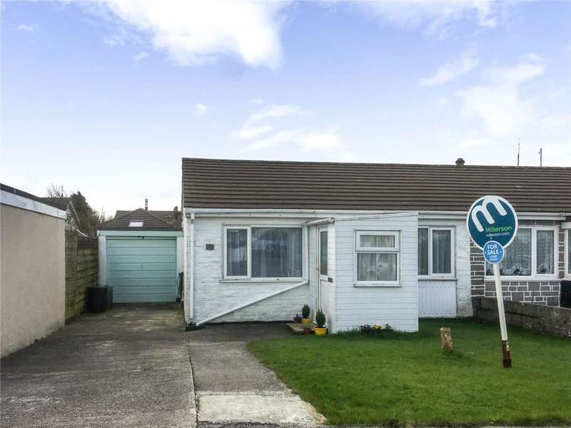 2 Bedrooms Semi Detached Bungalow for sale in Trevarren Avenue, Four Lanes, Redruth