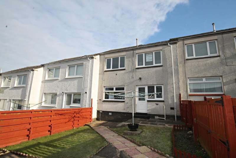 2 Bedrooms Terraced House for sale in Thistle Walk, Kincaidston, Ayr KA7