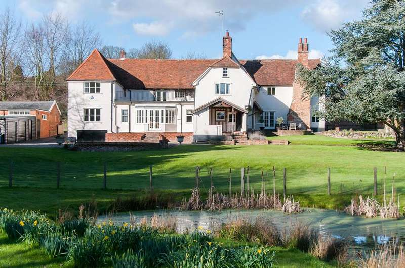 6 Bedrooms Detached House for sale in The Street, Monks Eleigh, Suffolk