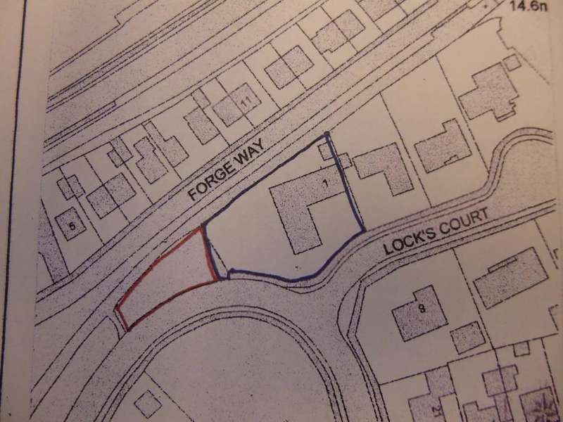 Plot Commercial for sale in Adjacent to 1 Locks Court, Porthcawl CF36