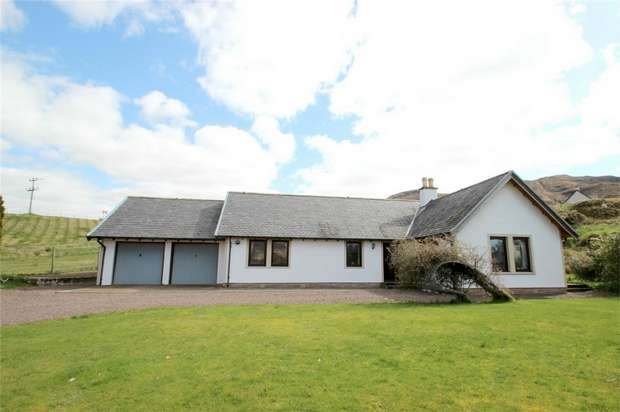 3 Bedrooms Detached House for sale in Carron View, Achintee, Strathcarron, Highland