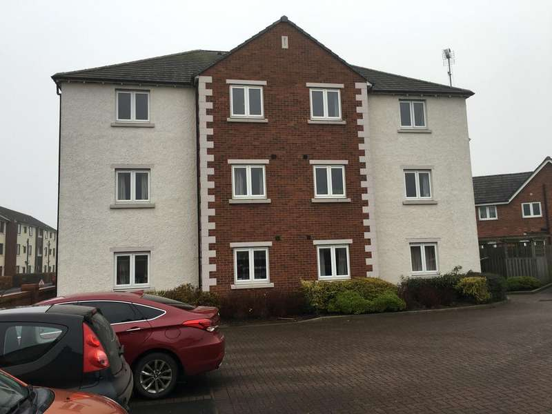 2 Bedrooms Flat for sale in 10 Sutton Close, Longtown, Cumbria CA6