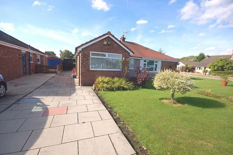 2 Bedrooms Semi Detached Bungalow for sale in Birchdale Avenue, Heald Green, Cheadle, Cheshire SK8