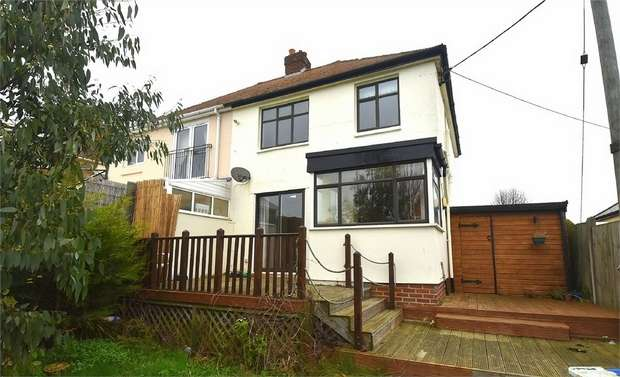 3 Bedrooms Semi Detached House for sale in Canterbury Road West, Cliffsend, Ramsgate, Kent