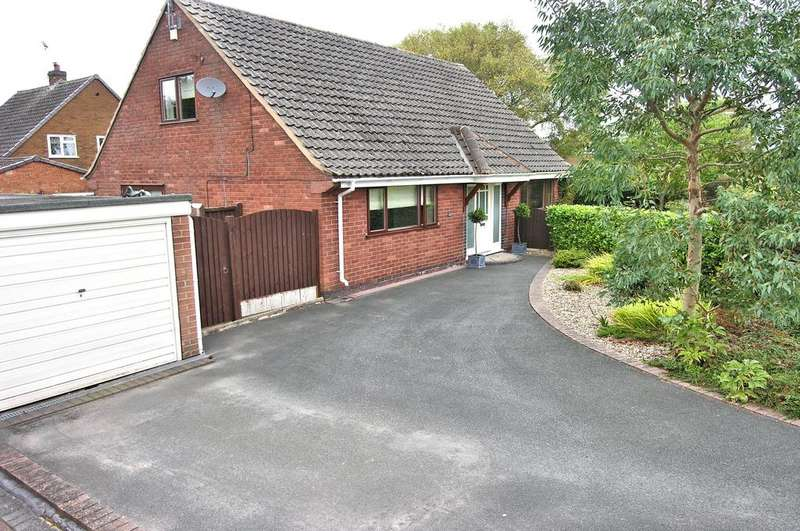 3 Bedrooms Detached Bungalow for sale in VICTORIA WAY, HILLCROFT PARK, STAFFORD ST17