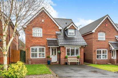 3 Bedrooms Detached House for sale in Canalside Close, Penkridge, Stafford, Staffordshire