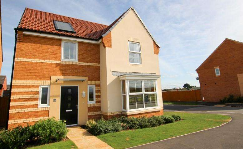 4 Bedrooms Detached House for sale in Westminster Way, Bridgwater TA6