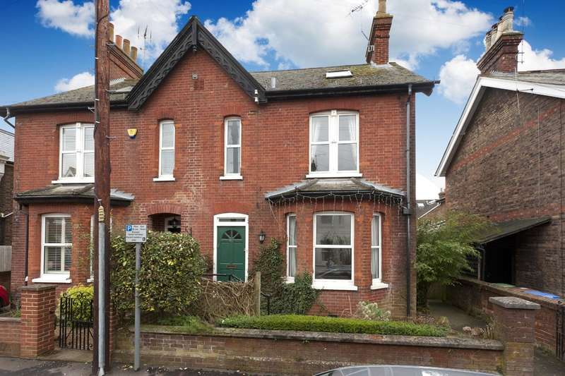 4 Bedrooms Semi Detached House for sale in Arthur Road, Horsham