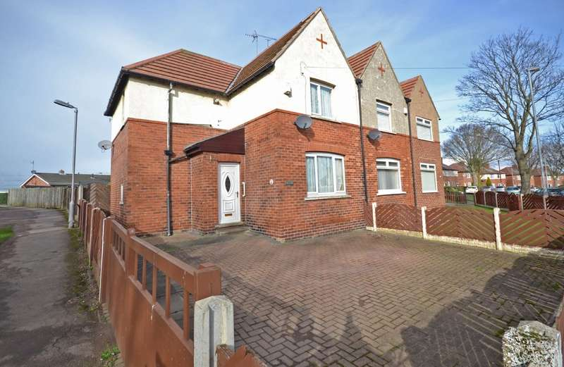 3 Bedrooms Semi Detached House for sale in Flanshaw Avenue, Wakefield