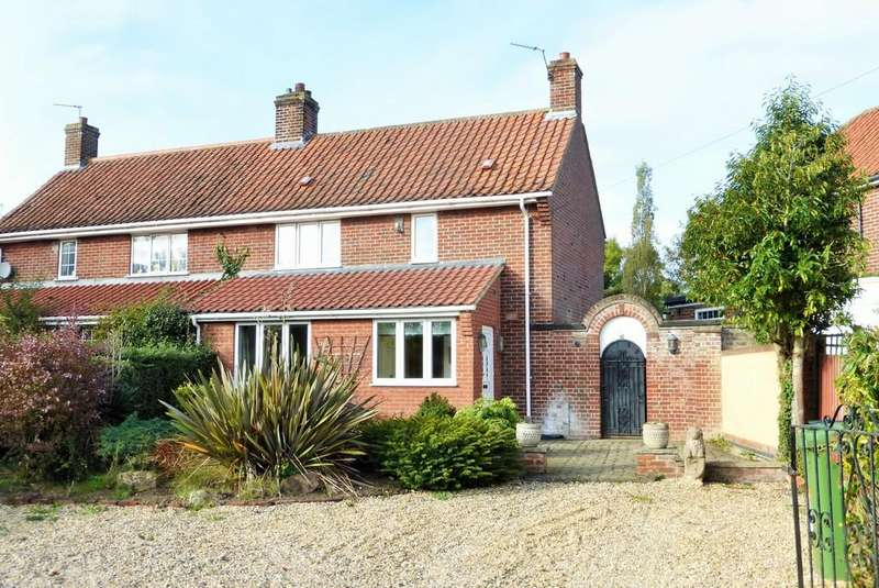 3 Bedrooms Semi Detached House for sale in Costessey, Norwich