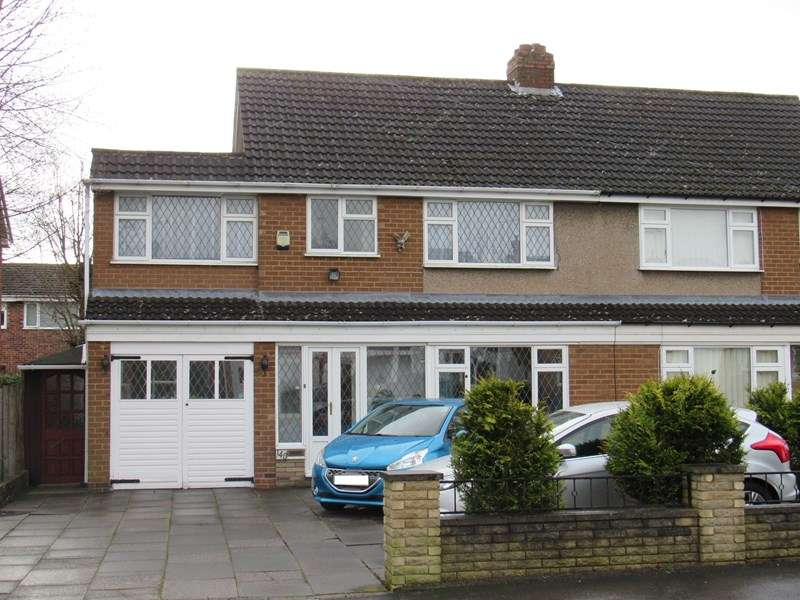4 Bedrooms Semi Detached House for sale in Langley Hall Road, Solihull