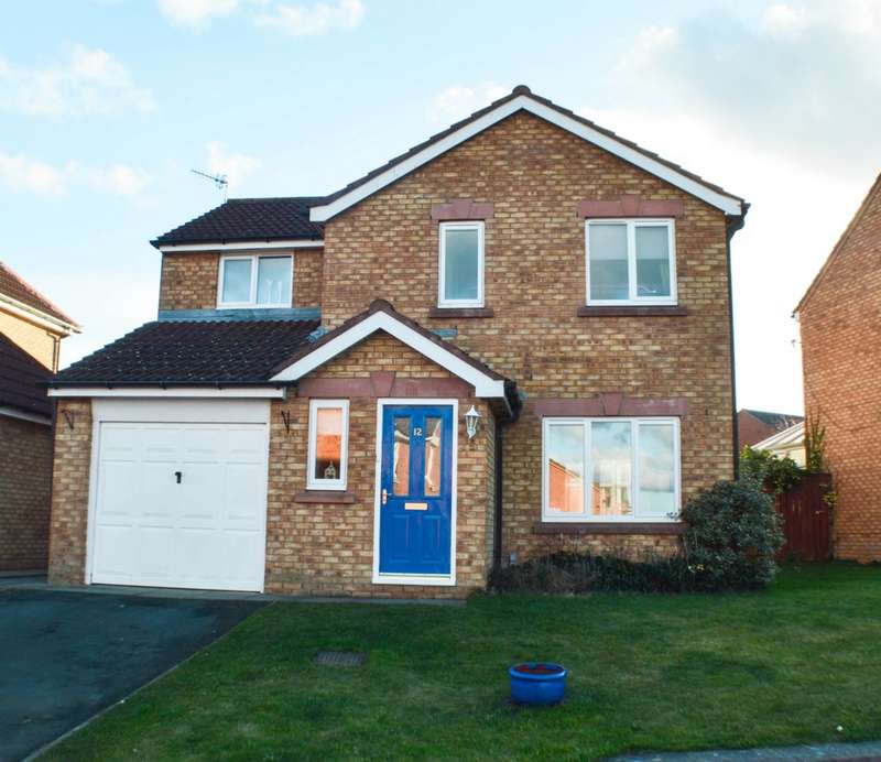 3 Bedrooms Detached House for sale in Lassels Rigg, Prudhoe, NE42