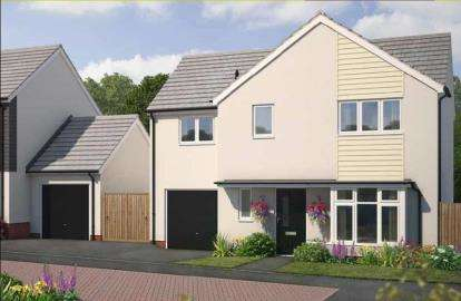 4 Bedrooms Detached House for sale in Church Road, Shortlanesend, Truro