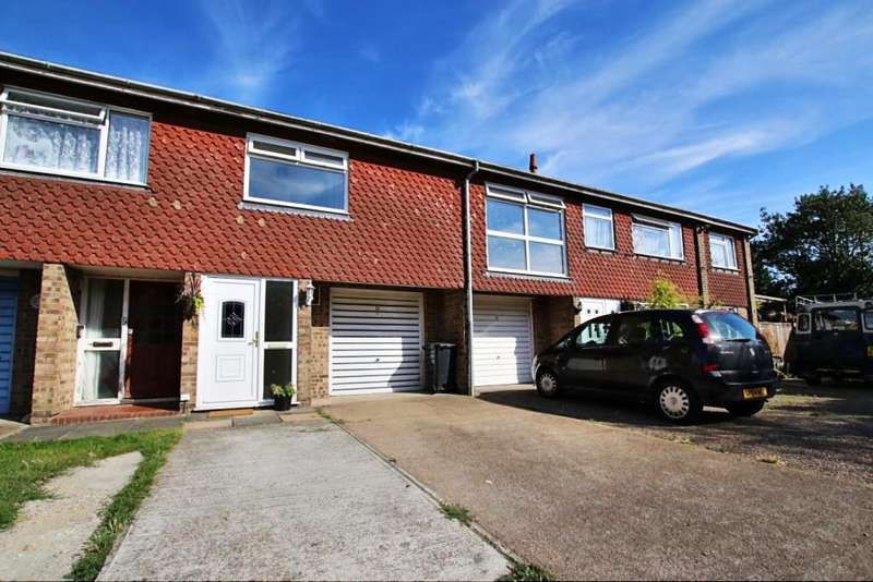 2 Bedrooms Terraced House for sale in Highview Close, Windmill Hill BN27
