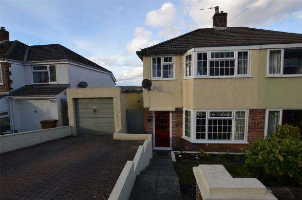 3 Bedrooms Semi Detached House for sale in Woodland Drive, Plympton, Plymouth, Devon