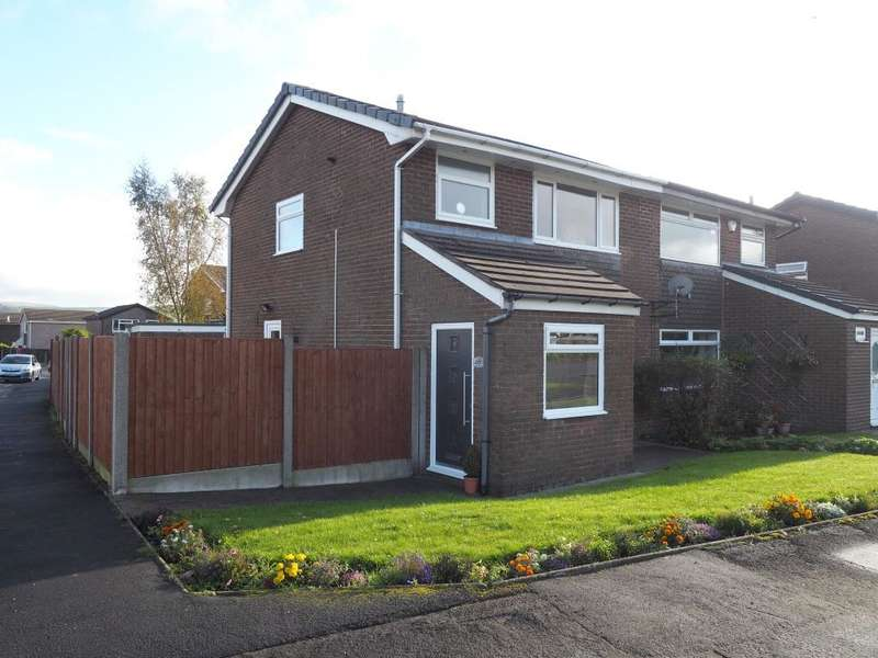 3 Bedrooms Semi Detached House for sale in Long Lane, Chapel-en-le-Frith, High Peak, Derbyshire, SK23 0TA