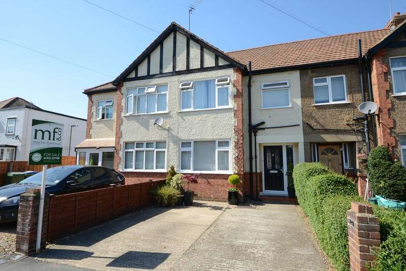 3 Bedrooms Terraced House for sale in Kings Road, WALTON ON THAMES KT12