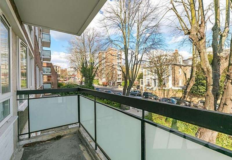 3 Bedrooms Apartment Flat for sale in Elgar House, Swiss Cottage