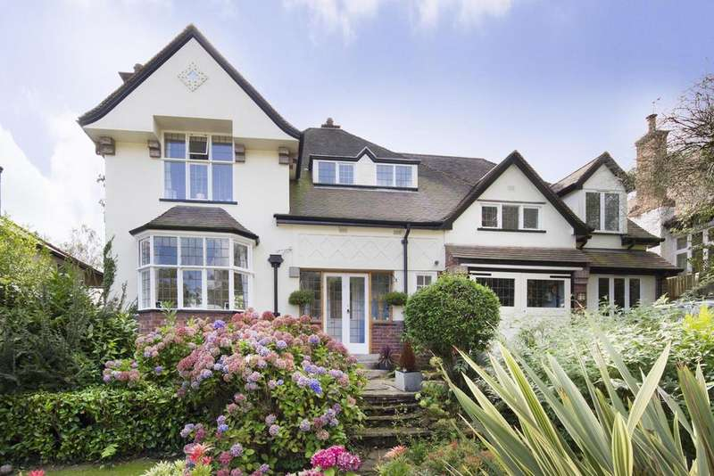 5 Bedrooms Detached House for sale in Cherry Hill Avenue, Barnt Green,