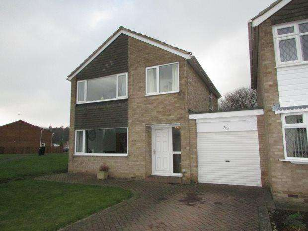 3 Bedrooms Detached House for sale in GRASMERE, SPENNYMOOR, SPENNYMOOR DISTRICT