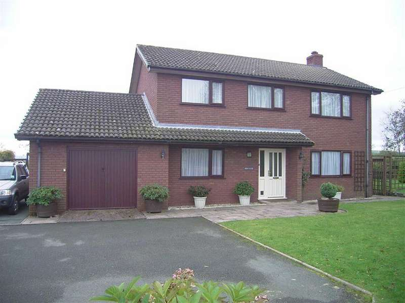 4 Bedrooms Detached House for sale in Pen Y Cae, Cefn Coch, Welshpool, Powys, SY21