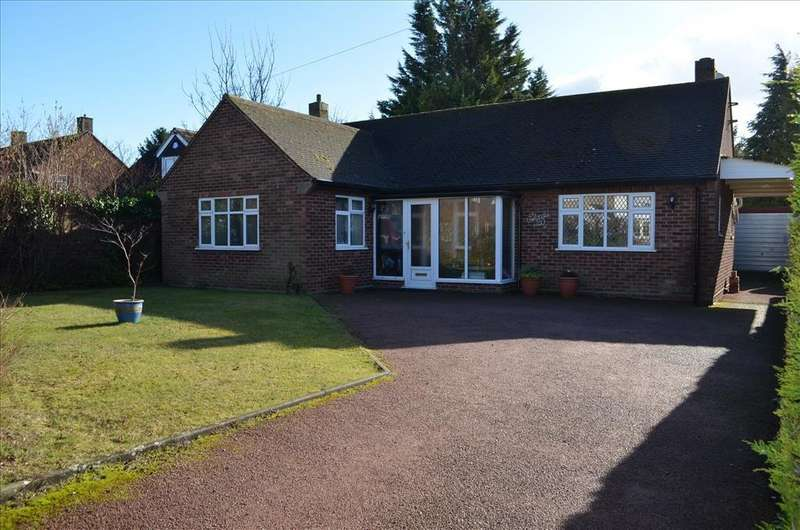 2 Bedrooms Detached Bungalow for sale in Kingsway, Royston, SG8